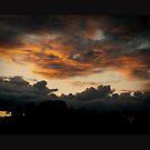 Dramatic sunset sky by Thaichi