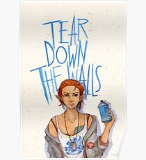 Tear Down the Wall Poster