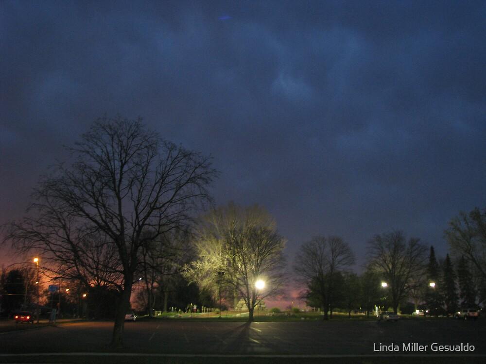Parking After Dark by Linda Miller Gesualdo