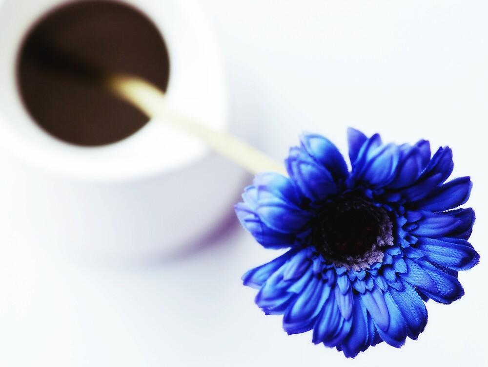 Blue Flower by azyalg
