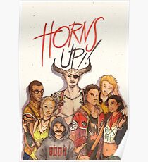 Horns Up! Poster