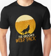 The Groom's Wolf Pack Unisex T-Shirt