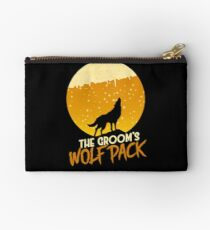 The Groom's Wolf Pack Studio Pouch