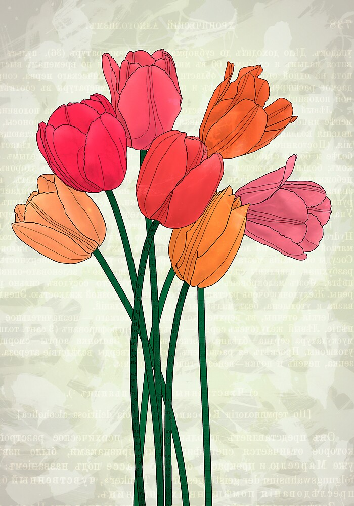 Les tulipes by Till-absurde