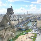 Gargoyle View of Paris by Michael Matthews