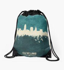Cleveland Ohio Skyline Drawstring Bag