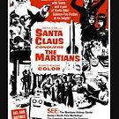 Santa Claus erobert das Marsmenschen-Film-Hemd! von comastar