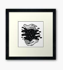 Zodiac Hands Framed Print
