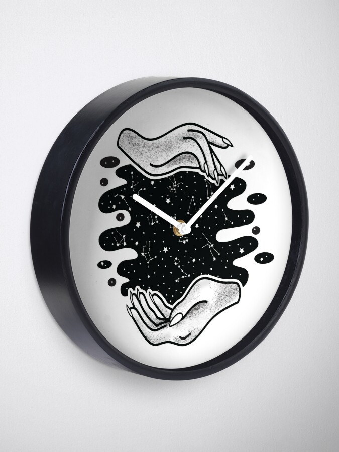 Alternate view of Zodiac Hands Clock