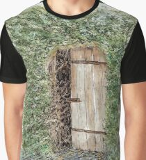 Secret door - Hahndorf, SA, Australia Graphic T-Shirt