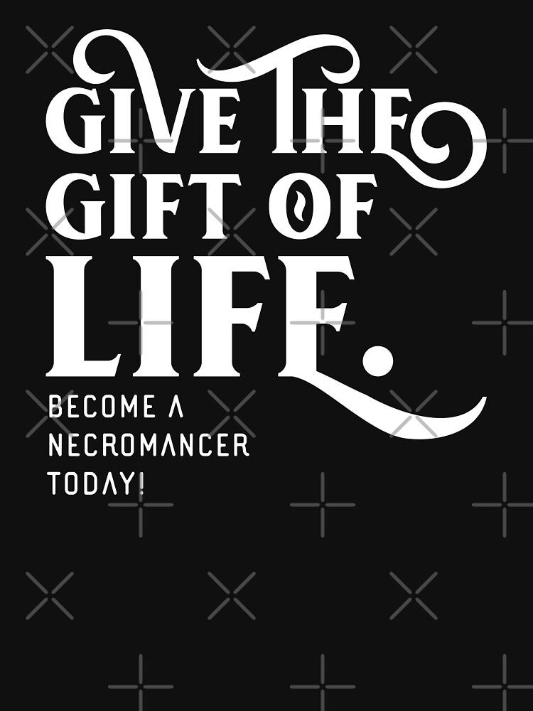 Give the Gift of Life Nigromante Juegos de mesa Juegos de rol de pixeptional
