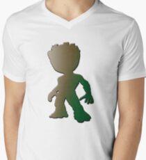 Baby guardian Men's V-Neck T-Shirt