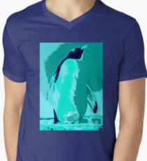 Penguin Ocean Men's V-Neck T-Shirt