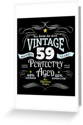 Funny Vintage 59th Birthday Gift