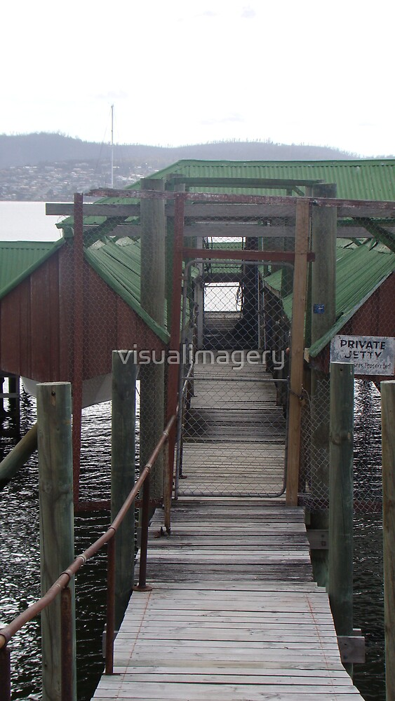 Private Jetty by visualimagery