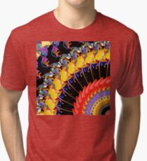 Abstract Collage of Colors 1 Tri-blend T-Shirt