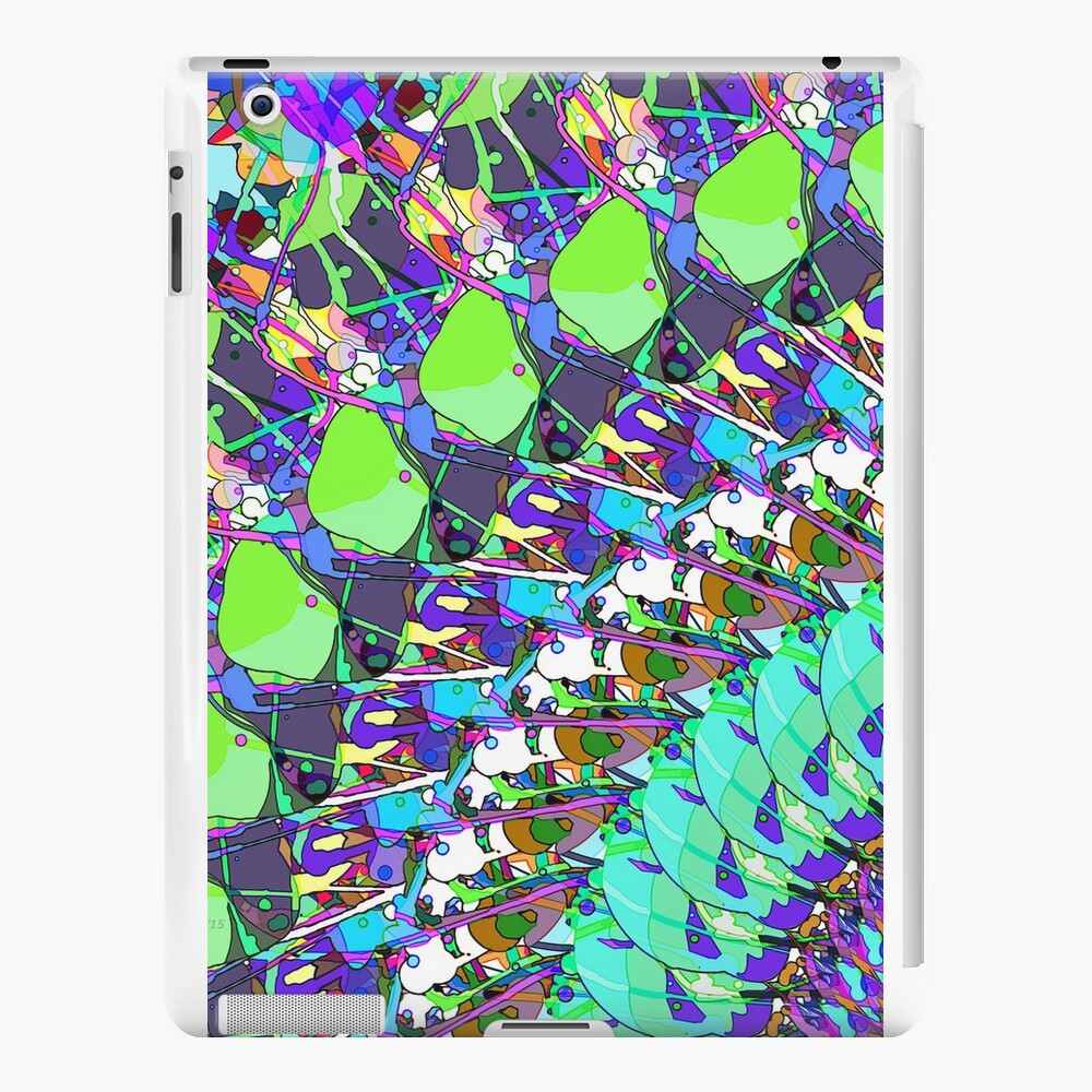 Abstract Collage of Colors iPad Cases & Skins
