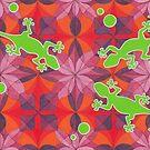 Gecko Gomera von Mandalavision