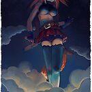 « Goddess of war - giantess » par Sedeto