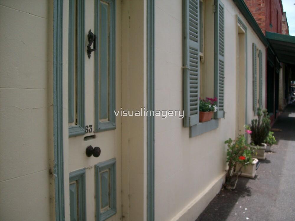 Doorways in Maldon by visualimagery