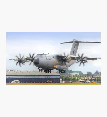Airbus A400M Atlas Landing - Farnborough 2014 Photographic Print