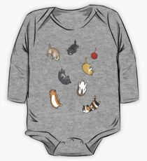 Kitten Rain One Piece - Long Sleeve