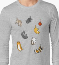 Kitten Rain Long Sleeve T-Shirt