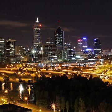 Perth, Western Australia by SpazzyPC