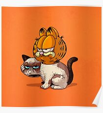 Garfield is a lambda cat Poster