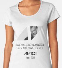 Avicii RIP Women's Premium T-Shirt