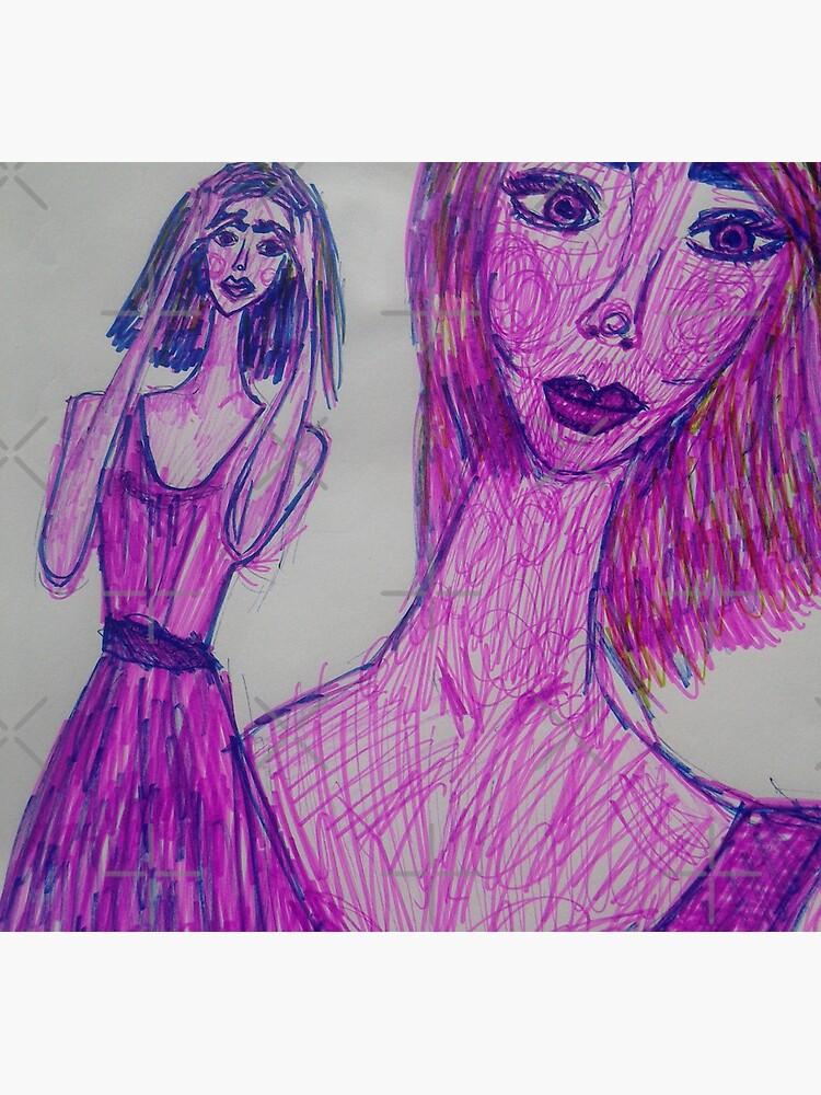 A Girl Having a Meditative Moment by IvanaKada