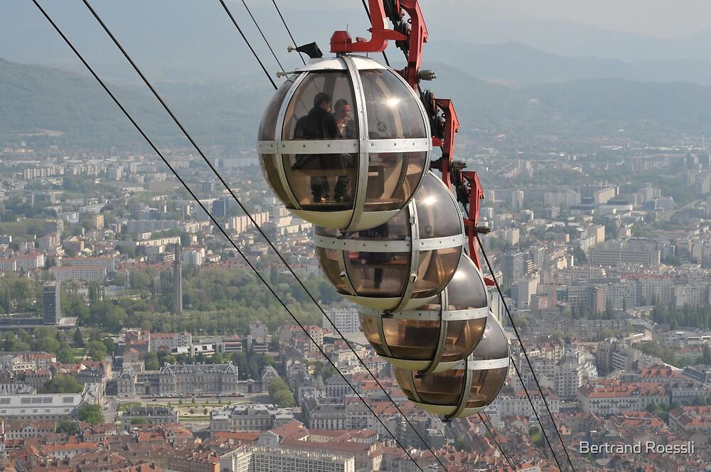 Grenoble Telepherique by Bertrand Roessli