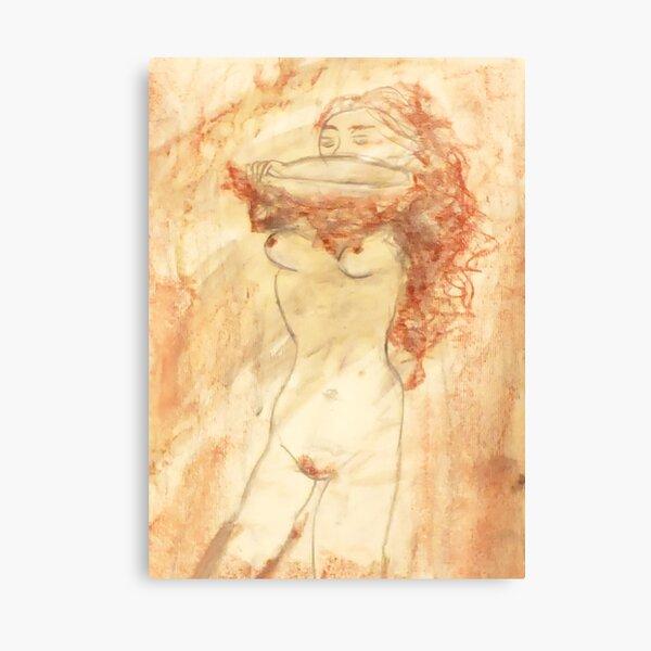 Skin So Thin... Canvas Print