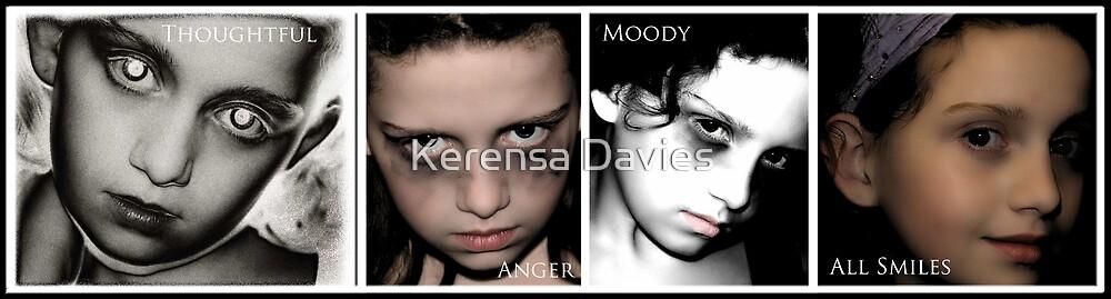 Emotions merged by Kerensa Davies