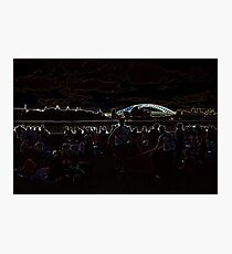 Abduction Afterglow Photographic Print
