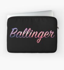 Ballinger Sonnenuntergang Logo Laptoptasche