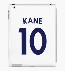 Harry Kane Tottenham FC/ England Shirt Illustration  iPad Case/Skin
