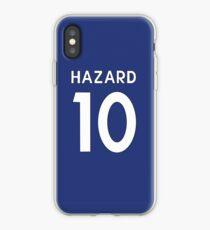 Eden Hazard Chelsea FC shirt Illustration  iPhone Case
