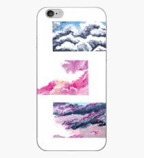 Clouds Acrylic Painting iPhone Case