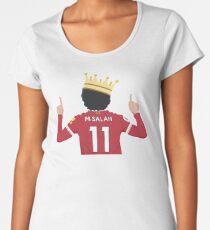 Mo Salah Egyptian King Liverpool FC Design Women's Premium T-Shirt