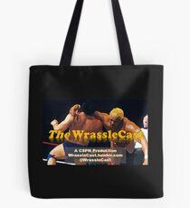 The WrassleCast logo Tote Bag