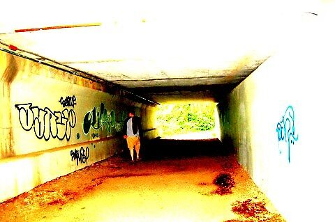 Tunnel by Halcyonclaire