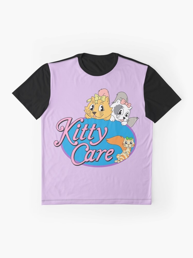 Alternate view of Kitty Care logo Graphic T-Shirt