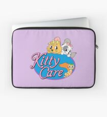 Kitty Care logo Laptop Sleeve