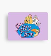 Kitty Care logo Canvas Print