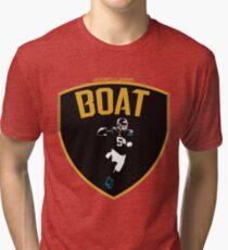 Camiseta de tejido mixto el barco