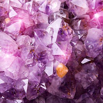 Purple Amethyst Crystal by newburyboutique