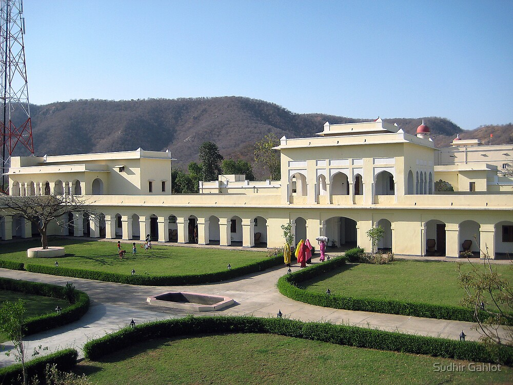 The Sariska Palace by Sudhir Gahlot
