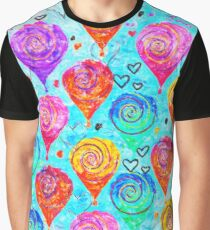 Balloon Pattern 1 Graphic T-Shirt