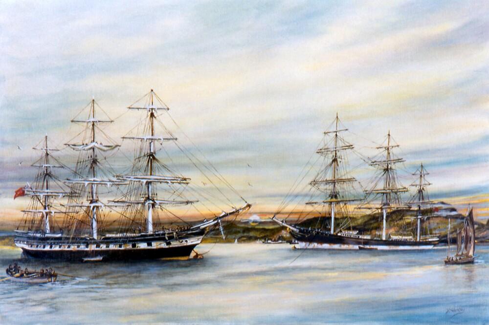 Safe Harbour by adamsonarts
